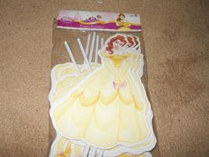 "Princess Belle Decorations Extra Large  11"" Belle  Disney Princess Birthday  Party"