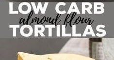These low carb tortillas are made with a blend of almond flour and coconut flour, and the dough is amazingly easy to handle. With les. Gluten Free Tortillas, Low Carb Tortillas, Blanched Almond Flour, Coconut Flour, A Food, Food Processor Recipes, Favorite Recipes, Snacks, Eat