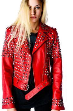 De Chaquetas Studded Cuero Imágenes Leather Mejores Jackets 115 EtTwBqq