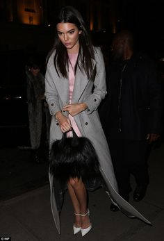 Busy schedule: Kendall Jenner was also spotted heading to the gathering as she was at the Zoolander 2 premiere earlier that night