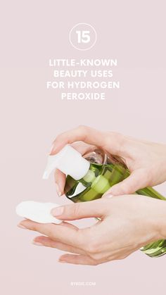 How to use hydrogen peroxide