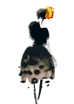 Laura Ann Huber--fashion illustration.