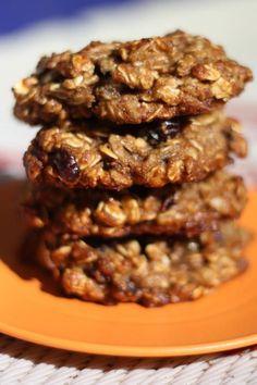Vegan Oatmeal Raisin Cookie.