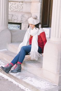 The Value of Friendship // Beret Trend // Winter Outfit Ideas // How to Dress for Winter// #winteroutfit #winterstyle #winterchic
