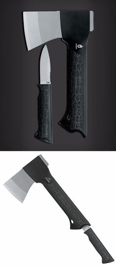 GERBER Gator Axe and Fixed Knife Blade Combo @aegisgears