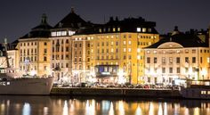 First Hotel Reisen Stockholm This hotel is 150 metres from the Royal Palace in Stockholm's Old Town. It offers fine dining, free Wi-Fi and free spa, gym and sauna access.  First Hotel Reisen's rooms feature a TV with pay channels, and many offer panoramic views of Lake Mälaren.