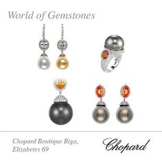 World of Gemstones #35 GEMSTONES  KULTIVĒTAS PĒRLES Taitī audzētās sudrabaini pelēkās pērles ir visbiežāk visbiežāk izmantotais dārgakmens Temptation kolekcijā.  КУЛЬТИВИРОВАННЫЙ ЖЕМЧУГ Чаще всего в коллекции Temptation используются серебристо серые жемчужины, выращенные на Таити. Chopard, Pearl Earrings, Gemstones, Boutique, Pearls, Luxury, World, Instagram Posts, Jewelry
