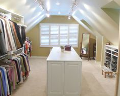 Attic Bedroom Closet Design, Pictures, Remodel, Decor and Ideas - page 28
