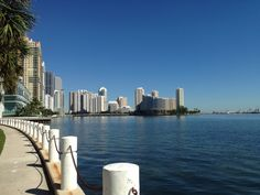 Miami with perfect skies