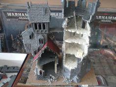 Two mordheim towers