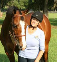 """""""Safety is my most important equine educational topic with all horse owners"""" - Lynn Palm"""
