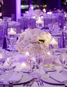 Photographer: Wayne and Angela Photography; Wedding reception centerpiece idea;