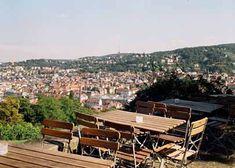 Stuttgart - Karlshöhe. Grandiose Aussicht über den Kessel! Repinned by www.parkett-direkt.net