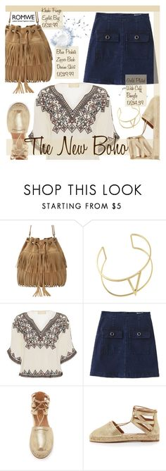 Boho Chic by pokadoll on Polyvore featuring Love Sam, Aquazzura and romwe