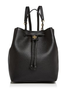 Tory Burch Leather Georgia Backpack Get One Of The Hottest Styles Season