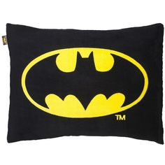 Batman Bed Pillow ($17) ❤ liked on Polyvore