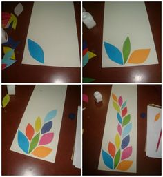 How to make a home accessory. Paper Cut Wall Art - Step 3