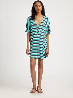 Ella Moss Riviera Stripe Dress #SaksLLtrip