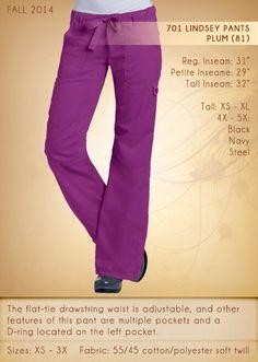701 LINDSEY Pants | 701-81 (Plum) CLEARANCE