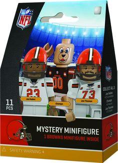 Cleveland Browns NFL Mystery Mini Figure Oyo Sports NIB Joe Haden Chomps Thomas