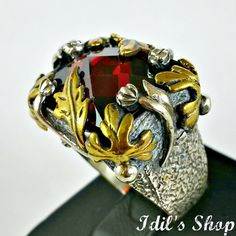 Authentic Turkish Ottoman Style Handmade 925 Sterling by IdilsShop, $115.00