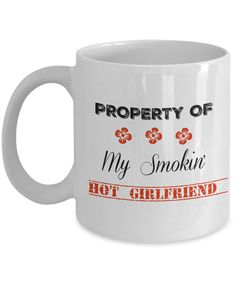 Treat your girlfriend with this beautiful mug.