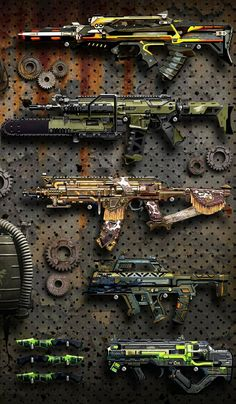 Sci Fi Weapons, Concept Weapons, Fantasy Weapons, Weapons Guns, Space Iphone Wallpaper, Mobile Wallpaper, Call Of Duty, Combat Armor, Weapon Storage