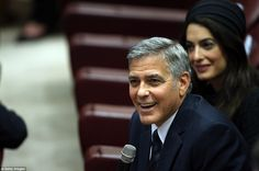 Clooneys among number of high-profile celebrities to meet Pope