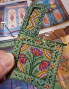Posts about illustration written by Salley Mavor Felt Embroidery, Hardanger Embroidery, Felt Applique, Cross Stitch Embroidery, Embroidery Designs, Yarn Crafts, Felt Crafts, Fabric Crafts, Sewing Crafts