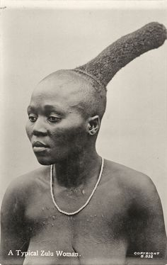 A Typical Zulu Woman, 1905-1915