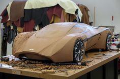Aston Martin DP-100 Vision Gran Turismo Concept - Clay Model