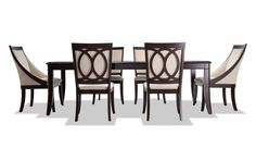 Family dinner is fashionable with my chic dining room set Dinning Room Sets, 7 Piece Dining Set, Dining Room Table, Dining Chairs, Room Chairs, Traditional Dining Room Sets, Contemporary Dining Room Sets, Furniture Care, Dining Room Furniture