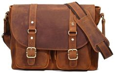 """Main Materials: All Genuine Leather Size: H: 11"""" L: 12.75"""" W:3.5 Exterior: This…"""