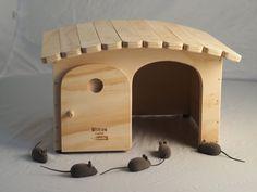 Blitzenpet, Tina tamaños L - casa para gatos, rascador, made in Italy 100%