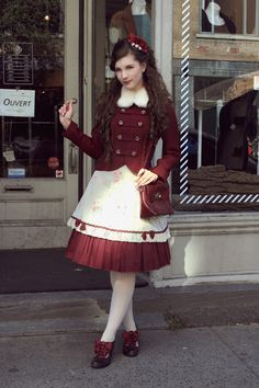 Outfit to meet thislittledolly at the Cardinal tea room