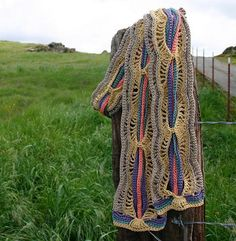 A Tangle of Color Scarf $5