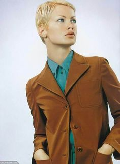 Prada | Spring 1996 - Carolyn Murphy