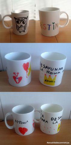 Tazas personalizadas para regalar a los profesores. Mug. Cap