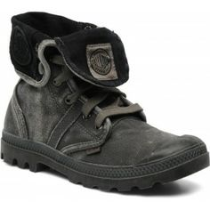 Ik vond dit op Beslist.nl: Palladium - (Dames) - Us Baggy F - Sneakers voor Dames / Grijs Hakhoogte : 2.5 cm}
