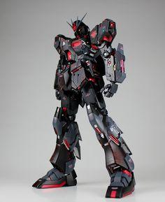 GUNDAM GUY: MG 1/100 Nu Gundam Ver. Ka 'Murder' - Custom Build