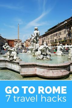 Go to Rome, Italy! Have a relaxed trip using these clever travel hacks.