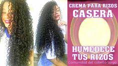 """Comunidad del cabello largo: CREMA CASERA PARA RIZADAS """"Humedece tus rizos"""""""