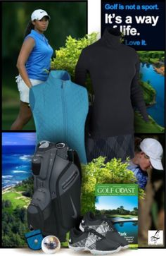 Here's a classic sporty golf style for you! #ootd #golfwear #lorisgolfshoppe