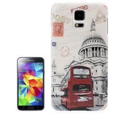 Backcover Case fürs Samsung Galaxy S5 i9600 London Tour Bus