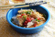 Pineapple Coconut Chicken: Yummy Thai food in 25 minutes!