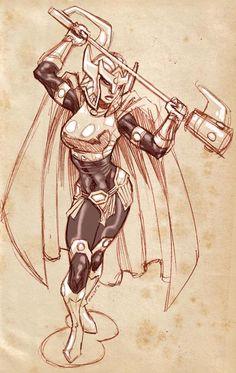 Big Barda by dichiara on DeviantArt Dc Heroes, Comic Book Heroes, Comic Books Art, Comic Art, Dc Comics Women, Marvel Dc Comics, Female Furies, Female Thor, Big Barda