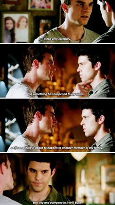 The Originals 4x02 <<< I just absolutely love the family bond and loyalty in this show