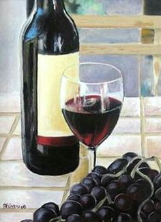L'apéro... Red Wine, Alcoholic Drinks, Glass, Food, Canvases, Alcoholic Beverages, Meal, Drinkware, Essen