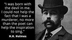 H.H Holmes 1st serial killer
