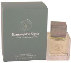 Ermenegildo Zegna Acqua Di Bergamotto Eau De Toilette Spray for Men (1.7 oz/50 ml)